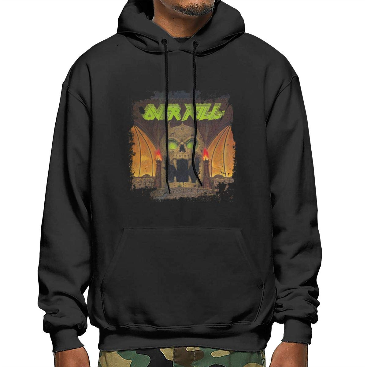 Opanjyajk Overkill The Years of Decay Mens Pullover Hooded Sweatshirt
