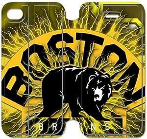 iphone 6 6S 4.7 inch Flip Leather Phone Case Boston Bruins XZ1UI6411323
