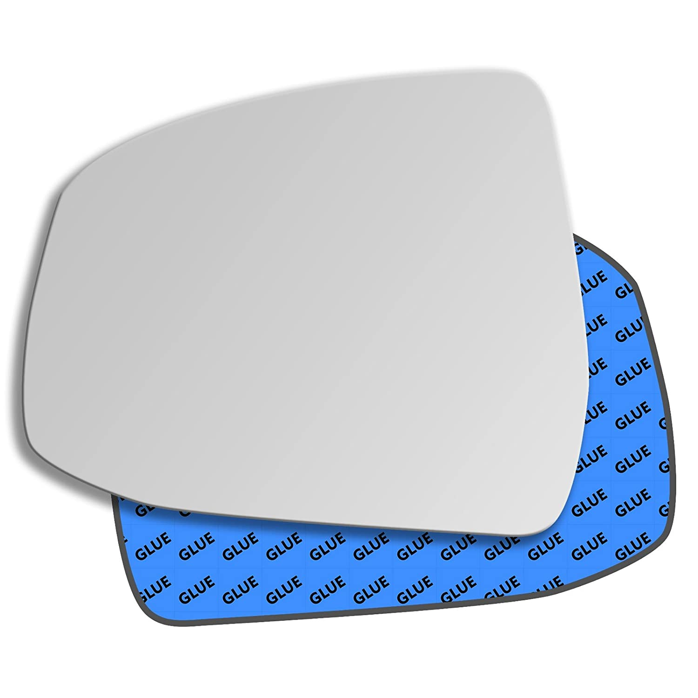 Left Passenger Side Convex Mirror Glass FORD FOCUS mk2 /& mk3 2007-2018 134ls