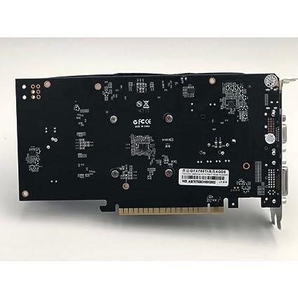 Onda GTX 750Ti 4G GDDR5 128bit Tarjeta gráfica con HDMI+VGA+ ...