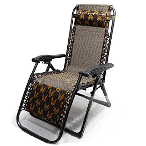 L-SYJH Chaise Longue/Plegable/sillón de Oficina de Verano ...