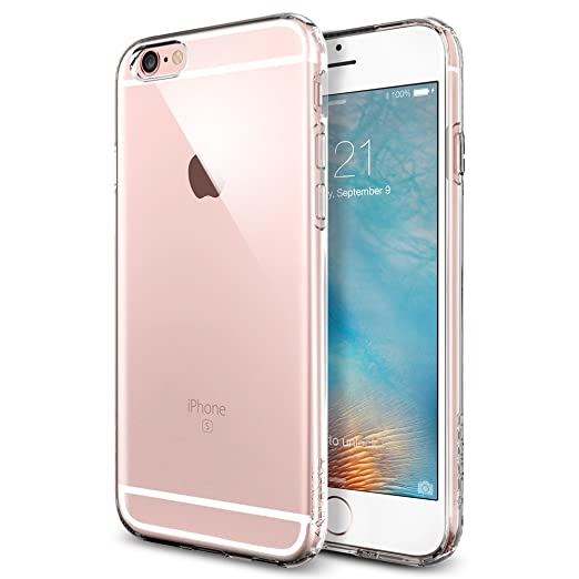 54 opinioni per Cover iPhone 6S, Spigen Cover iPhone 6 [TPU Shock-Absorption] **Capsule**Crystal