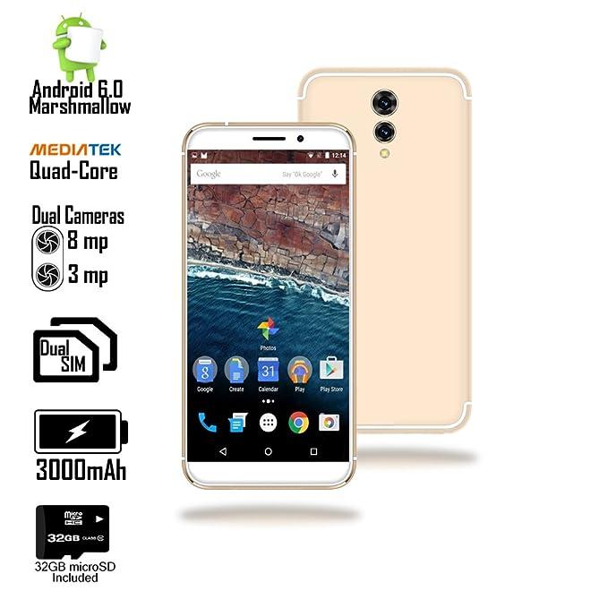 Indigi® 4G LTE 5,6 Pulgadas Android 6.0 Marshmallow Smartphone ...