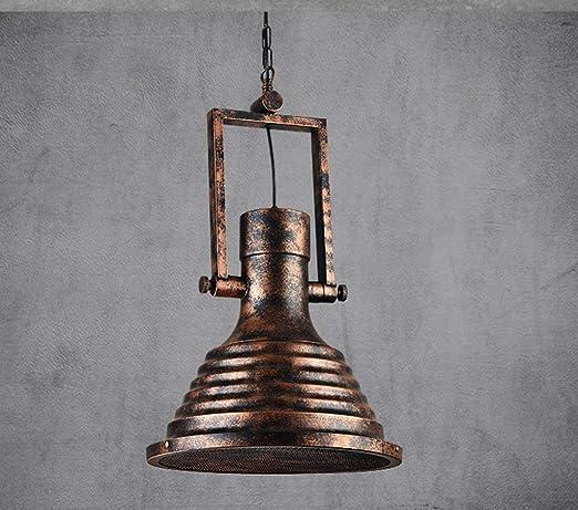 Lámpara Lámpara de Techo de Bronce Retro Lámpara Retro ...