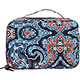 Vera Bradley Luggage Women's Large Blush & Brush Makeup Case Marrakesh Luggage Accessory
