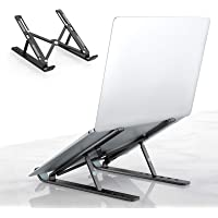Laptop Tablet Stand, Universal Lightweight Adjustable Aluminum Laptop Computer Stand, Ergonomic Foldable Portable…