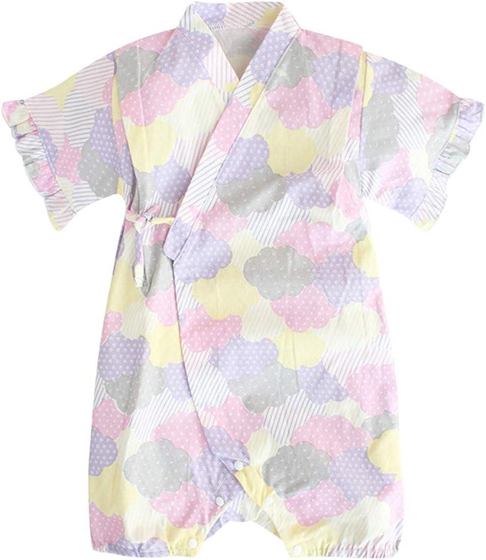 PAUBOLI Mameluco Kimono bata de algodón orgánico pijamas japoneses: Amazon.es: Ropa y accesorios