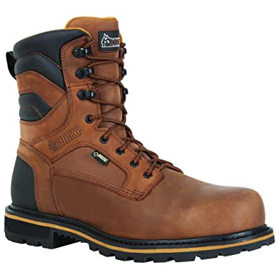 b1f065c3b04 Rocky RKYK061 Men's Governor Composite Toe Insulated Work Boot Brown