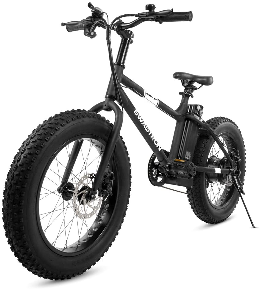 Swagtron fat-tire electric bicycle