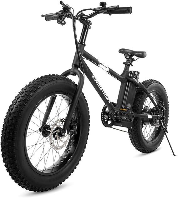 Swagtron EB-6 Bandit E-Bike 350W Motor