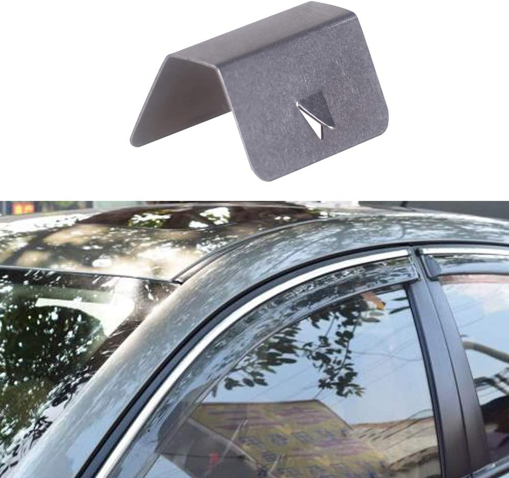 Ovieome Rain Deflector Fitting Clips Replacements for Heko G3 Channel Wind