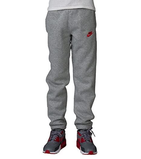 455abf2211577 NIKE BOYS NSW CUFF FLEECE PANT #805495-011