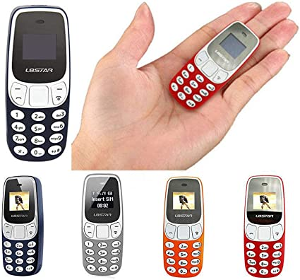 Mini teléfono móvil funcional portátil de bolsillo L8 Star BM10 Dual SIM GSM Bluetooth (naranja): Amazon.es: Electrónica