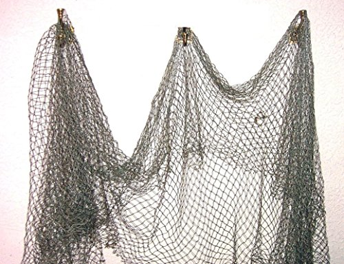 Mesh Fishing - Fish Net Nautical Fishing Decor Large Mesh by TikiZone