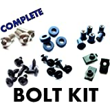 Suzuki GSX-R1000 05-06 Motorcycle Fairing Bolt Kit, Complete Screws kit GSXR 1000 2005-2006