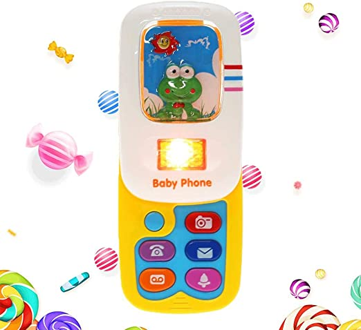 Baby Flip teléfono móvil Juguetes Dibujos Animados Animales ...