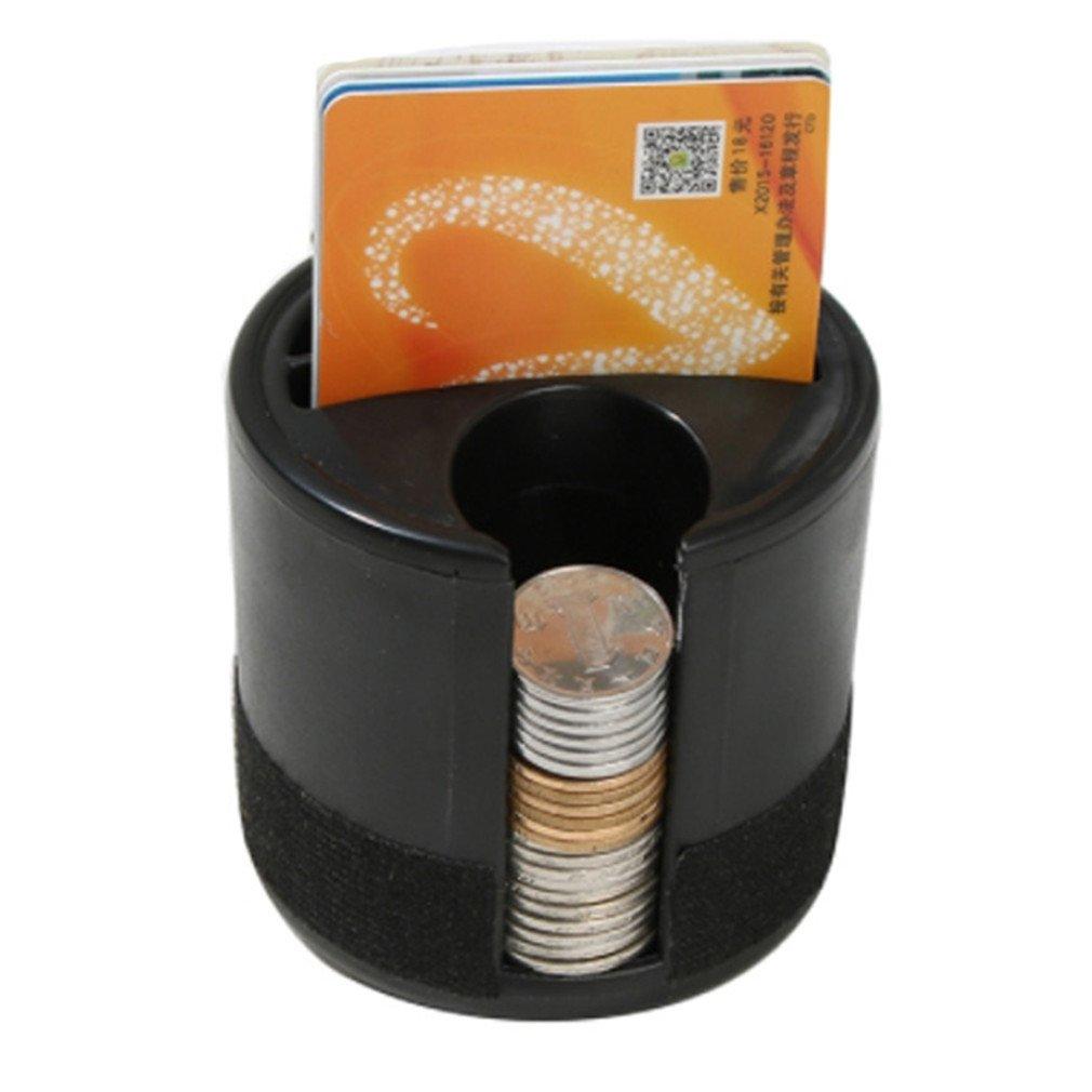 CanVivi Auto Aufbewahrungsbox Organizer Münzsammler für Münzen Kreditkarten und Schlüssel