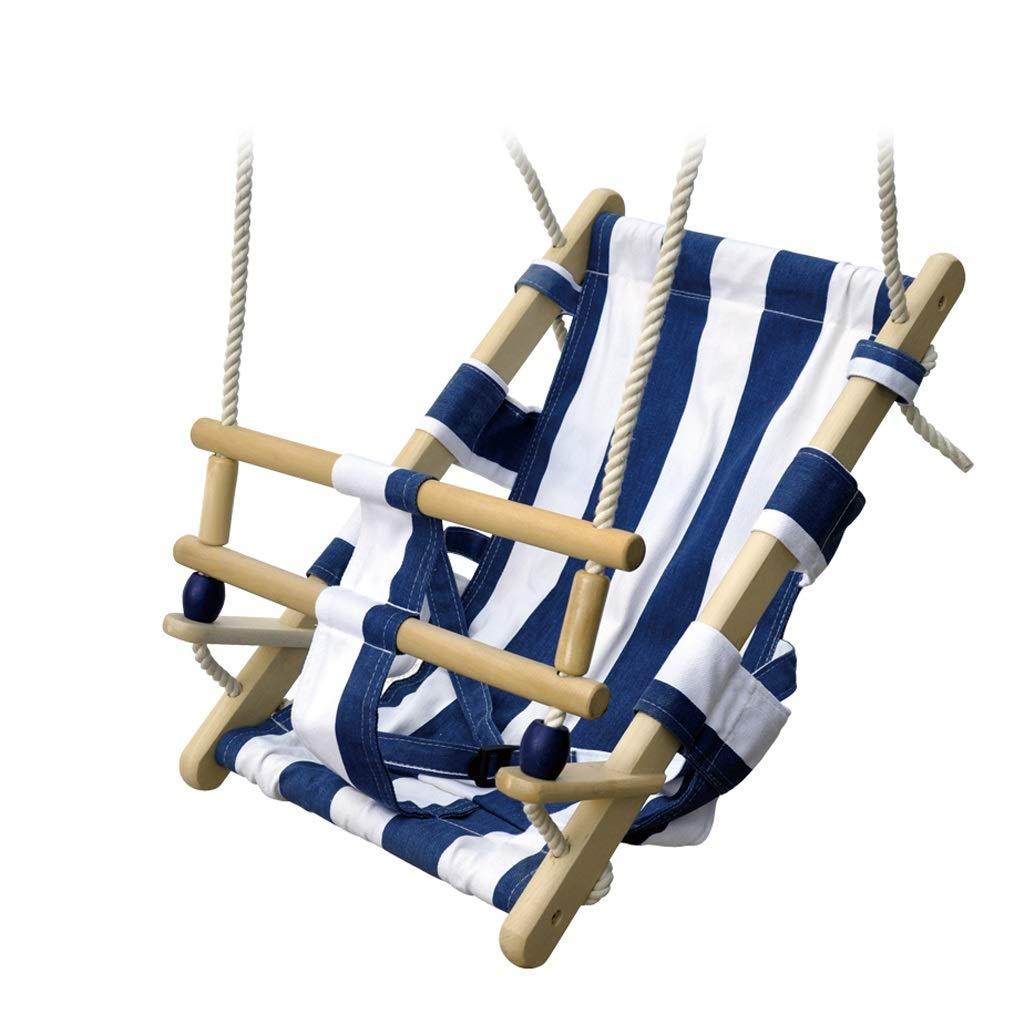 envío gratis azul 563425cm BingWS BingWS BingWS Columpios Silla giratoria para niños Lona para Silla en el Interior y en el Exterior Disponible Barra Horizontal Durable Altura Ajustable Felicidad de la Infancia  marcas de moda