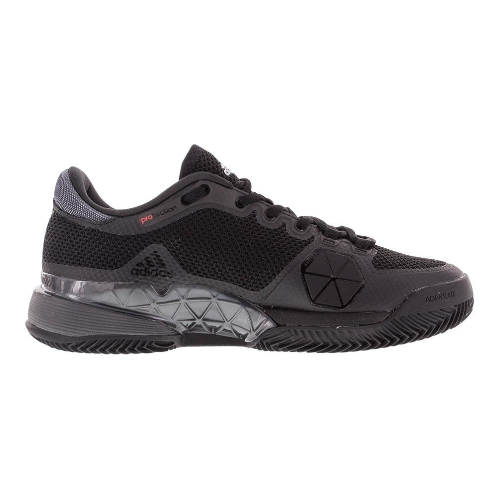 sports shoes ced7e 866dd adidas Hombres de 2017 Barricade Boost Clay Court - Zapatillas de Tenis,  Core Black Night Metallic White  Amazon.es  Deportes y aire libre