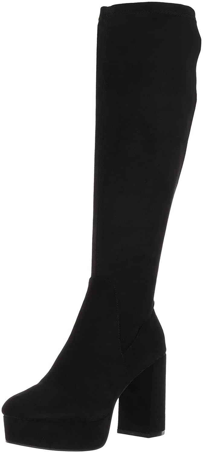 Chinese Laundry Women's Nancy Winter Boot B0714BLVDF 8 B(M) US|Black Suede