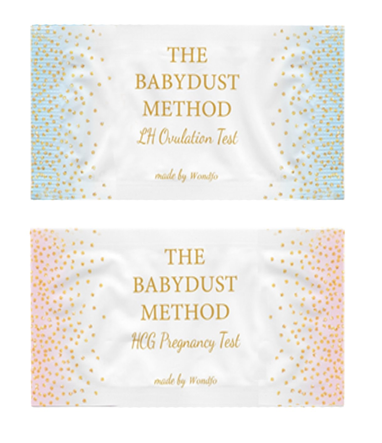 Wondfo Extra Wide Tests - by The Babydust Method - 100 LH ovulation and 20  HCG pregnancy test strips