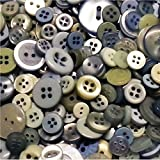 ASVP Shop 100 Small Coloured Buttons Wedding Decorations Table Centrepiece Craft Art Kitsch