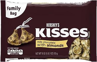 KISSES Chocolates with Almonds (18-Ounce Bags, Pack of 3): Amazon.es: Alimentación y bebidas