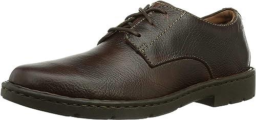 TALLA 40 EU. Clarks Stratton Way, Zapatos de Cordones Derby para Hombre