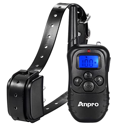 Anpro-DC-36 330-Rechargeable-Remote-Dog-Training-Collar