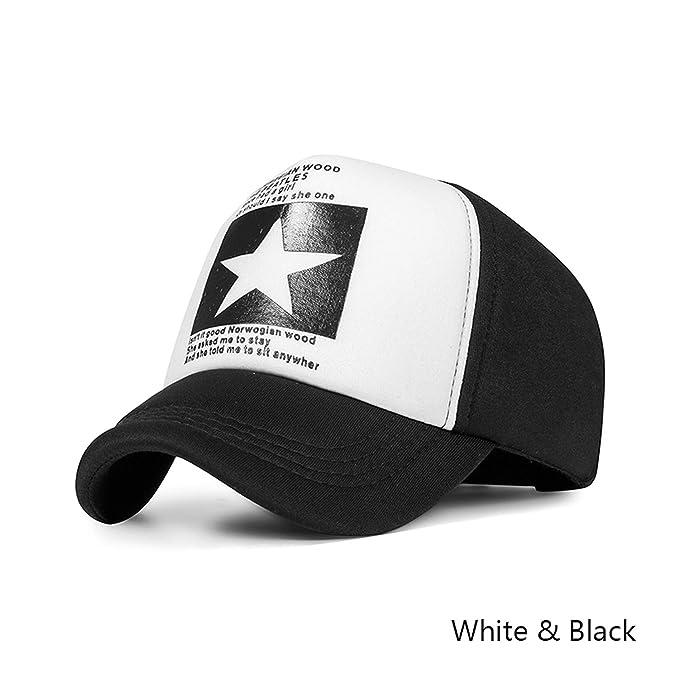 b2bda30d04656 HEWPASKE 2019 Fashion Summer Baseball Cap Women Men Mesh Breathable Cap  Unisex Adjustable Sport Hats Bone