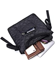 Fushida Walker Accessories Bag - Multiple Rollator Walker Bag for Scooters Rollators Scooters - Convenient Walkers Pouch Store Personal Belongings(Black, FGJ489)