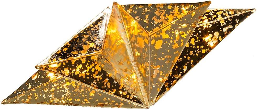 Kurt Adler UL 10-Light Gold Bethlehem Star Treetop