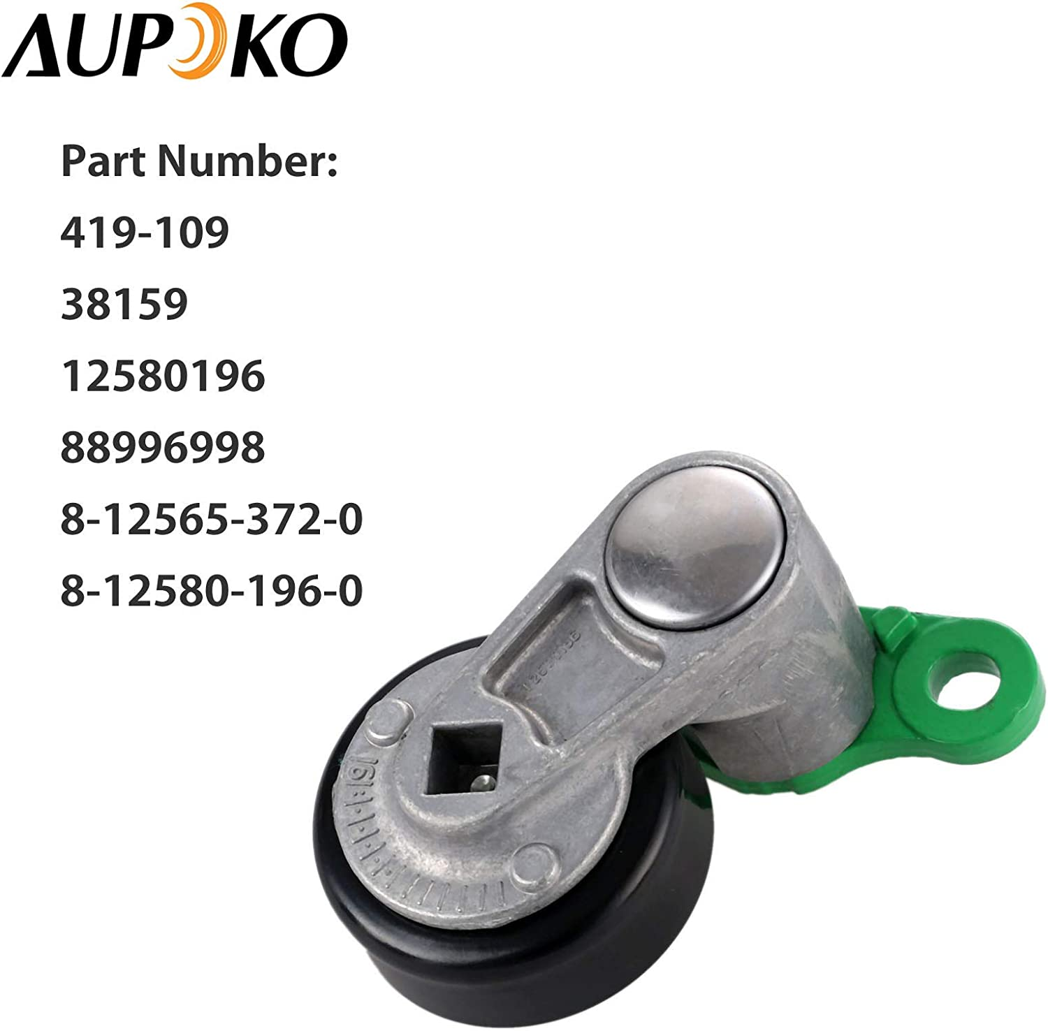 Accesory Drive Belt Tensioner Pulley For Honda Passport 3.2 L