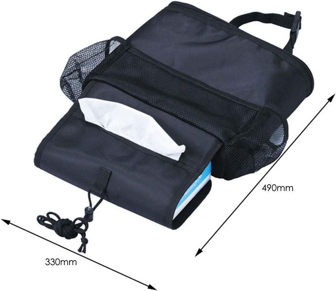 Jinxuny Car Seat Back Organizer Car Front Backseat Storage Multi-Pocket Travel Storage Bag Heat-Preservation