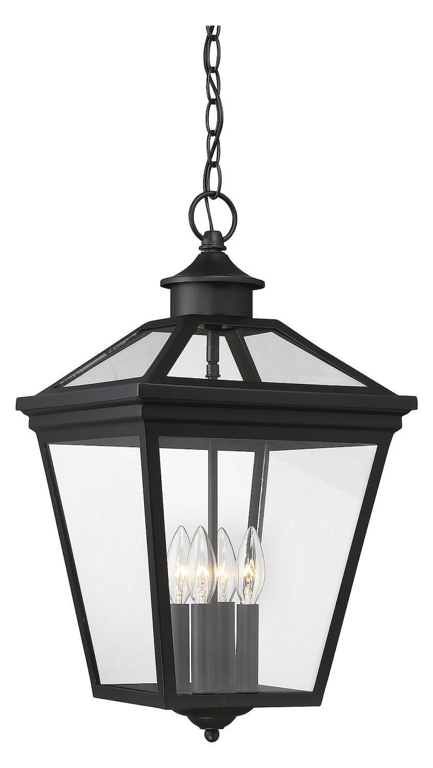Ellijay 12In. Steel Hanging Lantern