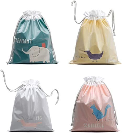 Dinosaurs Love 2 Pack Gym Drawstring Bags Daily Storage Bag
