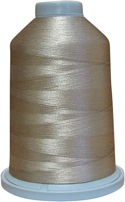 40-5000 Meter Spool 50473 Peach Glide Thread Trilobal Polyester No