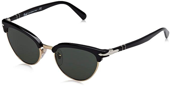 Persol 0PO3198S Gafas de sol, Ojos de gato, 50, Black ...