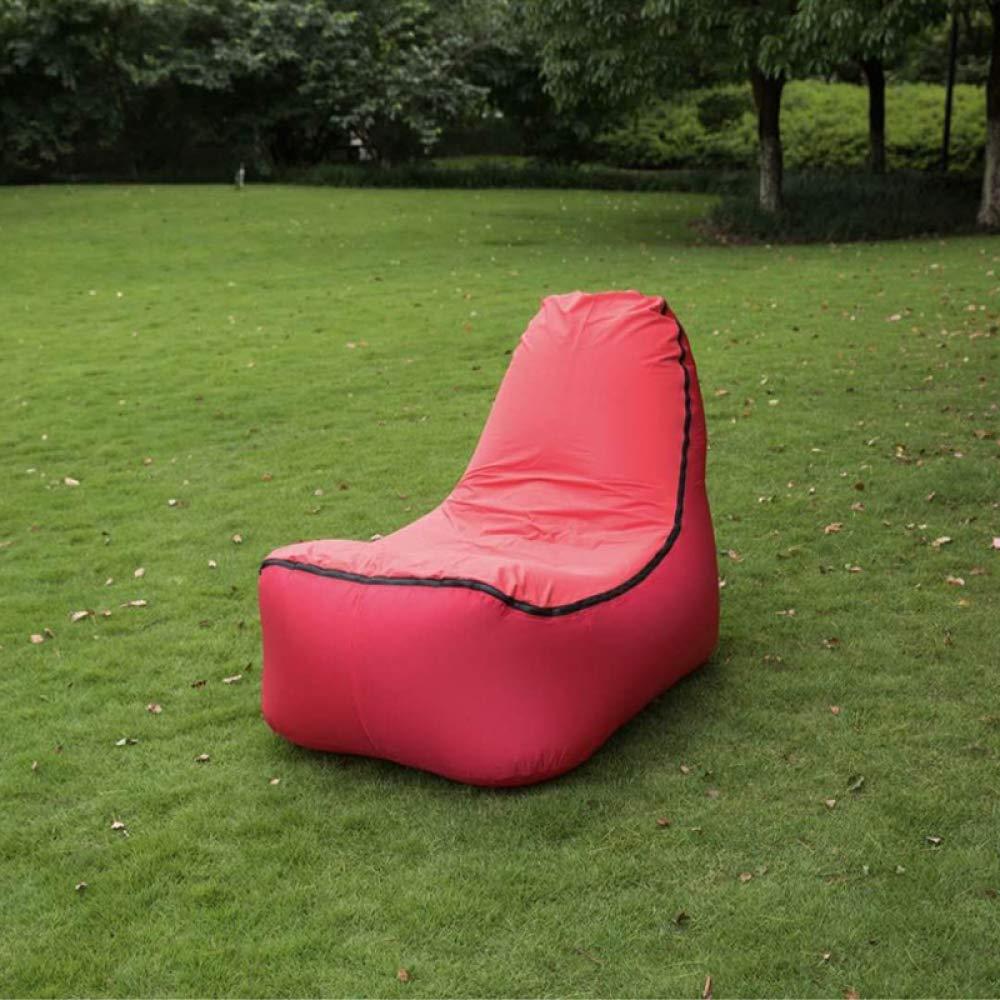 Myzixuan Faule Luft Sofa Tasche Tragbare aufblasbare Blatt Mann Luftmatratze Outdoor-Klappsitz