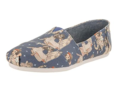TOMS Womens Disney¿ Alpargata Pink Sleeping Beauty Printed Canvas 5 ...