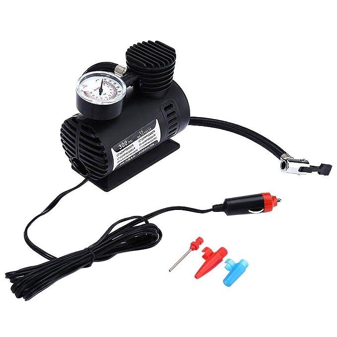 Amazon.es: rokoo portátil 300PSI 12 V Mini Compresor De Aire Auto auto Bomba de Neumáticos Aire Eléctrica Nueva