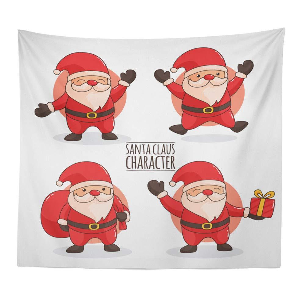 Dreamyth Christmas Xams//Halloween Pumpkin Tapestry Throw Wall Hanging Santa Claus Snow Man Blanket Home Decor