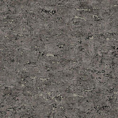 (RoomMates Black Faux Cork Peel and Stick Wallpaper)