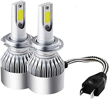 2x H7 Luces Delanteras del Coche Kit H7 MODOCA Auto Car 110W 11000LM H7 Kit de faros LED Bombillas 12V//24V Sustituci/ón de Hal/ógenos o Bombillas HID