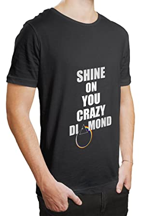 Shine On You Crazy Diamond T Shirt  Amazon.in  Clothing   Accessories fdc6e1935