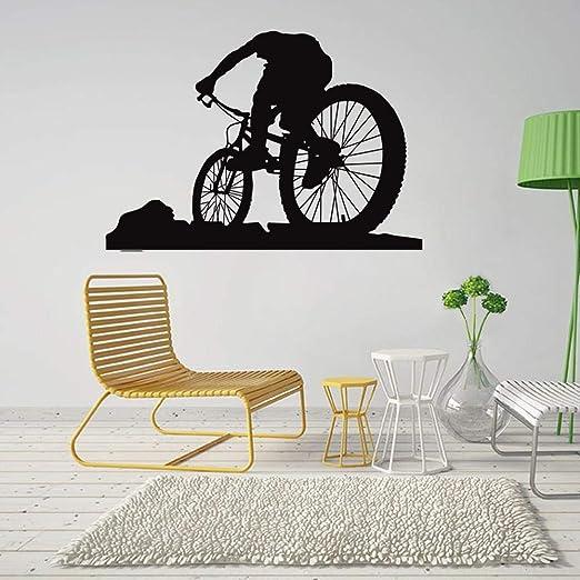 DZBMY Pegatinas de Pared,Montaña Bicicleta Personalidad Creativa ...