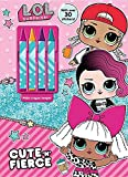 L.O.L. Surprise! Cute 'n' Fierce has coloring, stickers, activities, and four awesome crayons for hours of fun.
