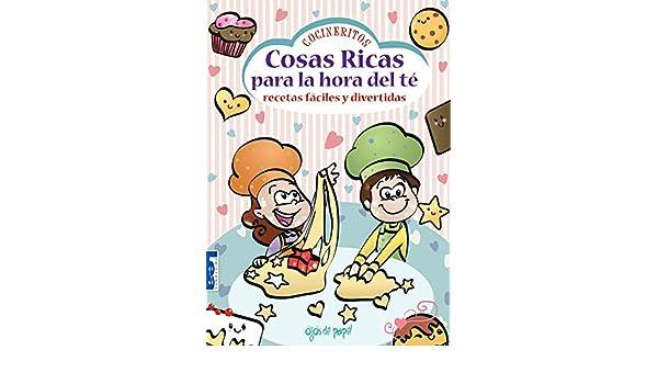 Cosas ricas para la hora del té: Recetas fáciles y divertidas (Spanish Edition): María Florencia Cabrera: 9789876341493: Amazon.com: Books