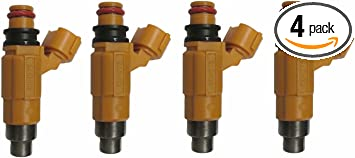 4 pcs CDH-275 MD319792 Fuel Injectors Fit Marine Yamaha Outboard F150 AW347305