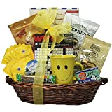 GreatArrivals Gift Baskets Gourmet Get Well Gift Basket, Chemo Champion, 4 Pound
